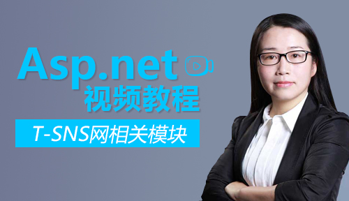 .net課程:T-SNS網相關模塊